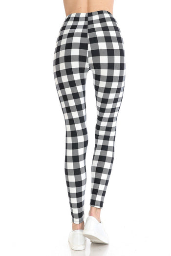 Multi Printed High Waist Leggings
