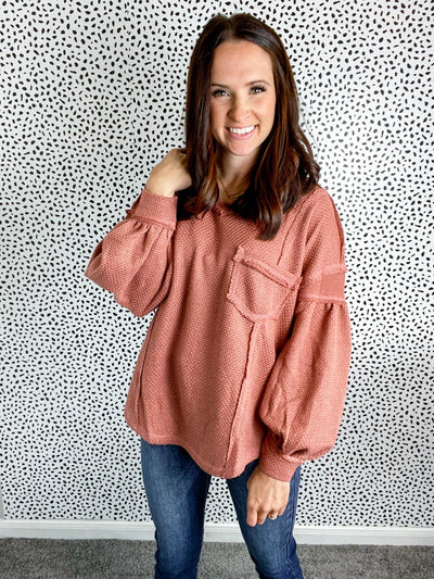Forever and Always Cinnamon Sweater - UntamedFaithBoutique