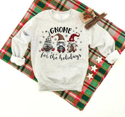 Gnome For The Holidays Sweatshirt - UntamedFaithBoutique