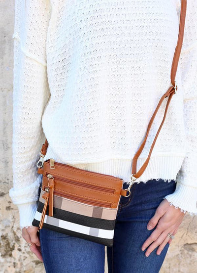 Maddi Plaid Crossbody - UntamedFaithBoutique