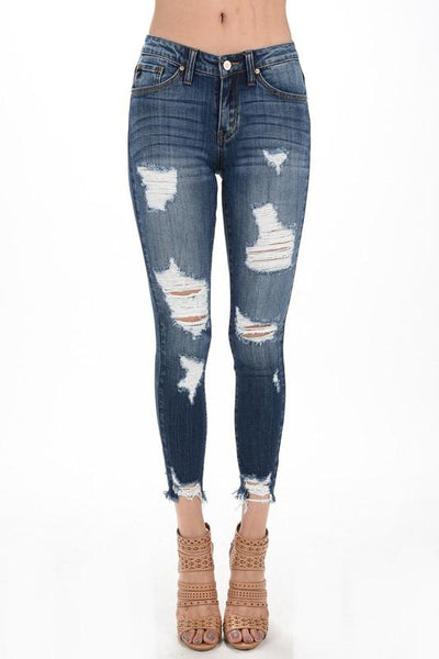 Night on the Town Skinny Jeans - UntamedFaithBoutique