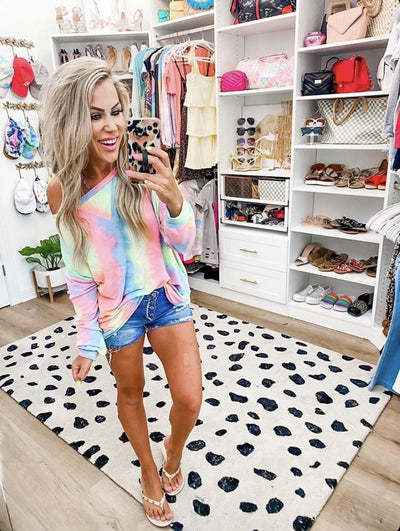 Search for Perfection Tie Dye Pullover - UntamedFaithBoutique
