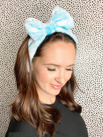 So Relaxed Blue Spa Headband - UntamedFaithBoutique