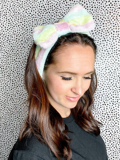 So Relaxed Multi Colored Spa Headband - UntamedFaithBoutique