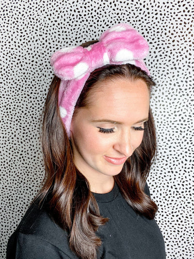 So Relaxed Pink Spa Headband - UntamedFaithBoutique