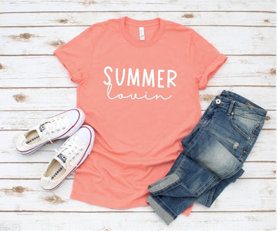 Summer Lovin' Sunset Graphic Tee - UntamedFaithBoutique