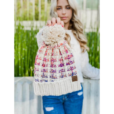 Sunset Dreams Ombre Beanie - UntamedFaithBoutique