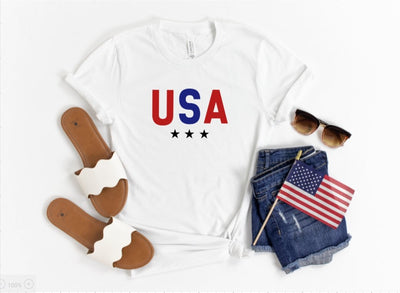 USA T-Shirt - UntamedFaithBoutique
