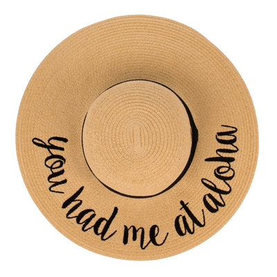 You Had Me At Aloha Hat - UntamedFaithBoutique