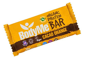 Bodyme Organic Protein Bar - Cacao Orange