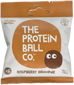 The Protein Ball Co - [Vegan] Raspberry Brownie