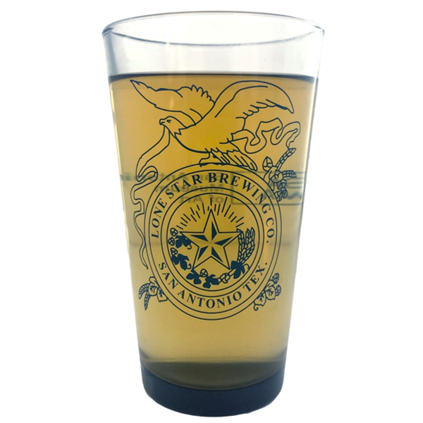 SAMA Lone Star Pint Glass