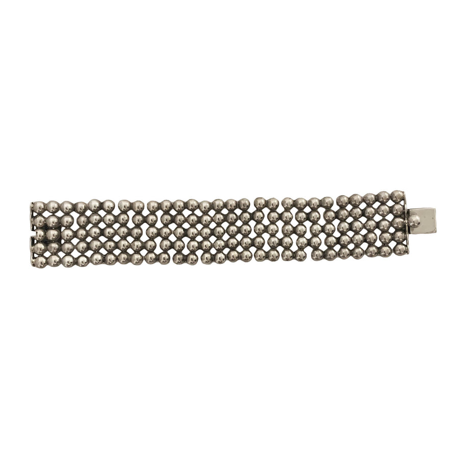 Spratling Sterling Silver Connected Balls Bracelet