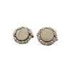 Spratling Sterling Silver Circle Cufflinks