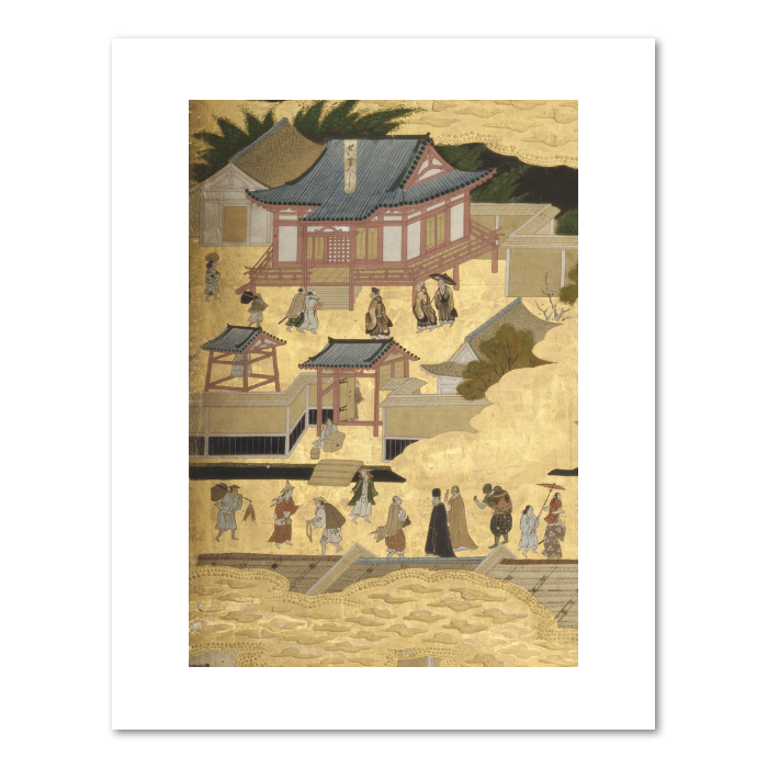 """Scenes in and around Kyoto"" (detail) print"