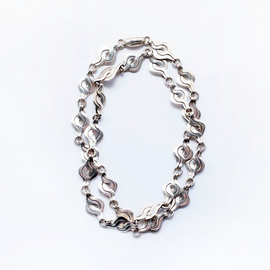 "Spratling Sterling Silver ""S"" Necklace"