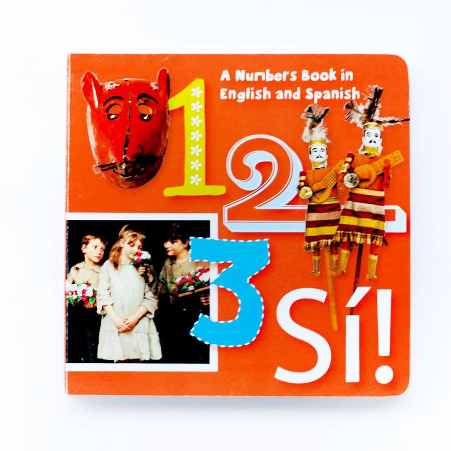 123 Sí Arte Kids Board Book