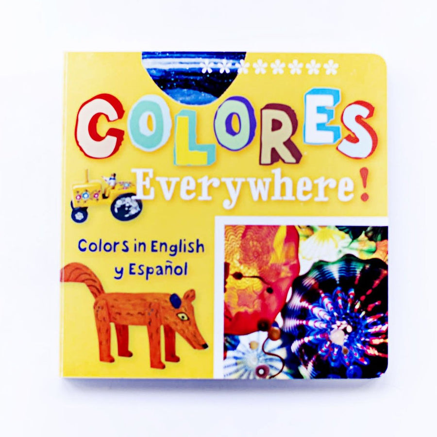 Colores Everywhere Arte Kids Board Book