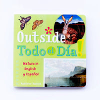 Outside Todo el Día! Arte Kids Board Book