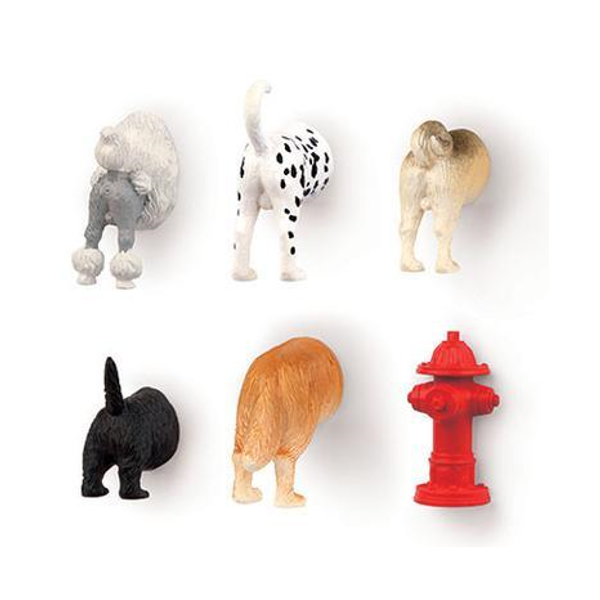 Dog Butt Magnet Set