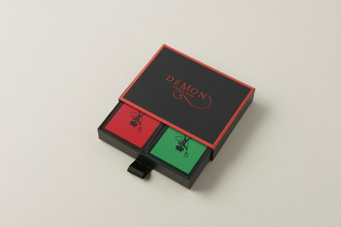 Red/Green Demon Playing Cards (Twin Pack)