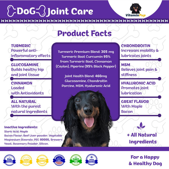 Dog Joint Care with Glucosamine