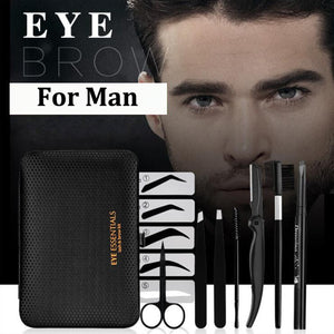 8 in 1 man Eyebrow Trimming Kit