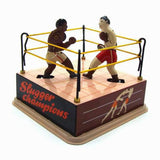 Vintage Style Tin Toy Boxing Ring