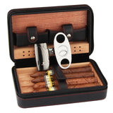 COHIBA Travel Cedar Wood Cigar Humidor