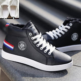 Casual High Top Leather Kicks