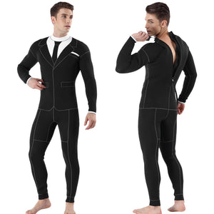 3mm Neoprene Hawaiian Dinner Suit Wetsuit