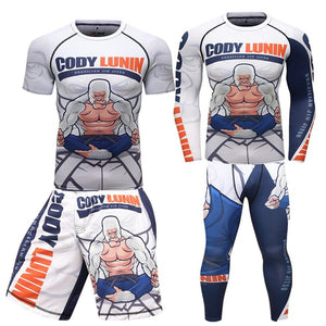 Cody Lunin Compression Gear BJJ (Gorilla)