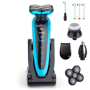 5 Blade Rechargeable Waterproof Electric Razor
