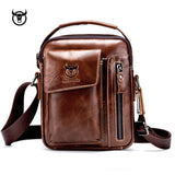 Vintage Genuine Leather Crossbody Shoulder Bag