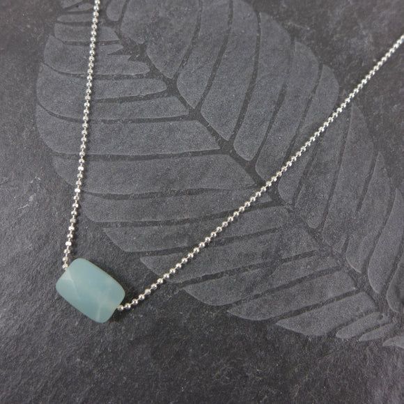 Amazonite Sterling Silver Necklace - karen-morrison-jewellery
