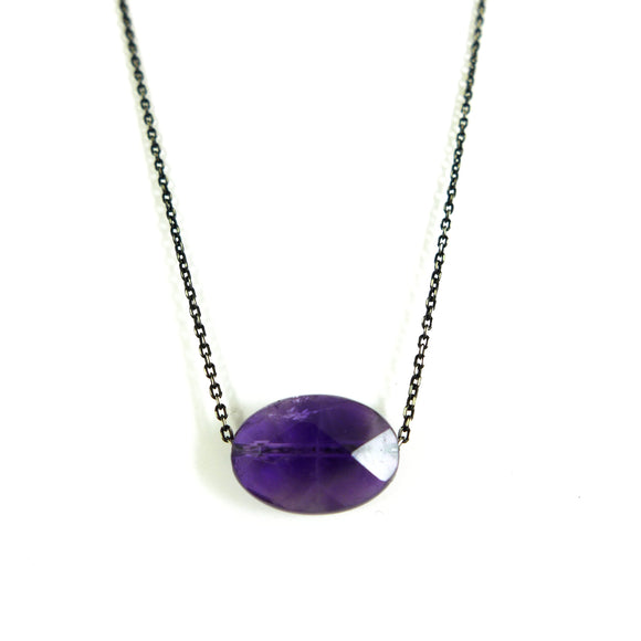 Amethyst Necklace - karen-morrison-jewellery
