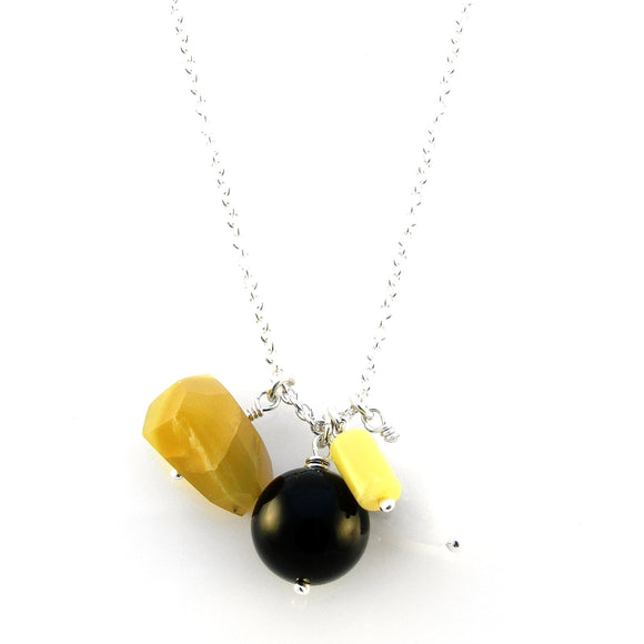 SALE - Yellow Chalcedony Necklace - karen-morrison-jewellery