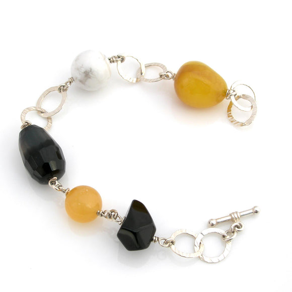 SALE - Yellow Chalcedony Bracelet