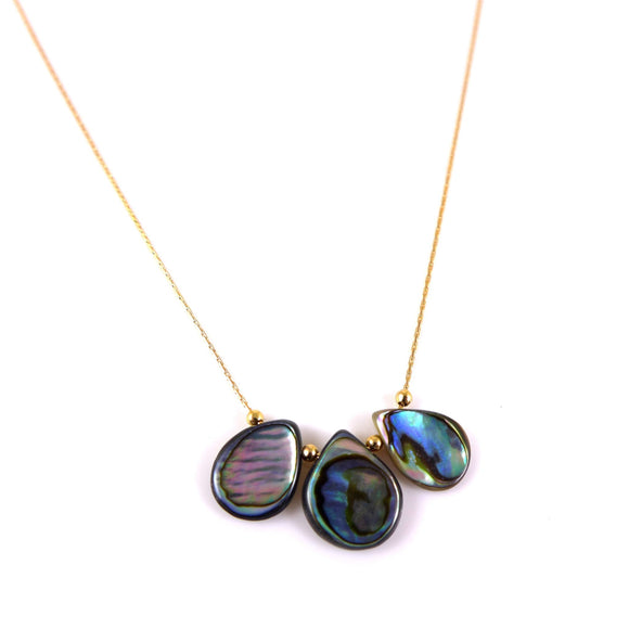 Abalone Shell Necklace - karen-morrison-jewellery