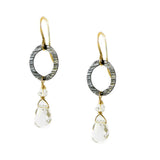Rock Crystal Earrings - karen-morrison-jewellery