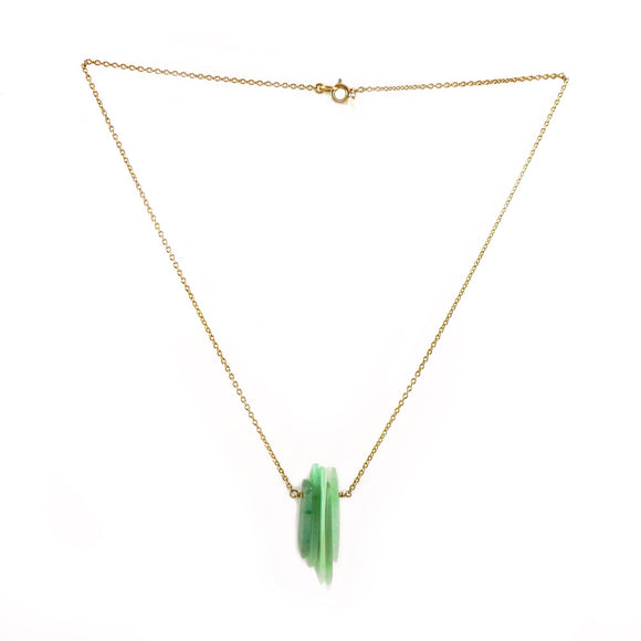 Aventurine Shard Necklace - karen-morrison-jewellery