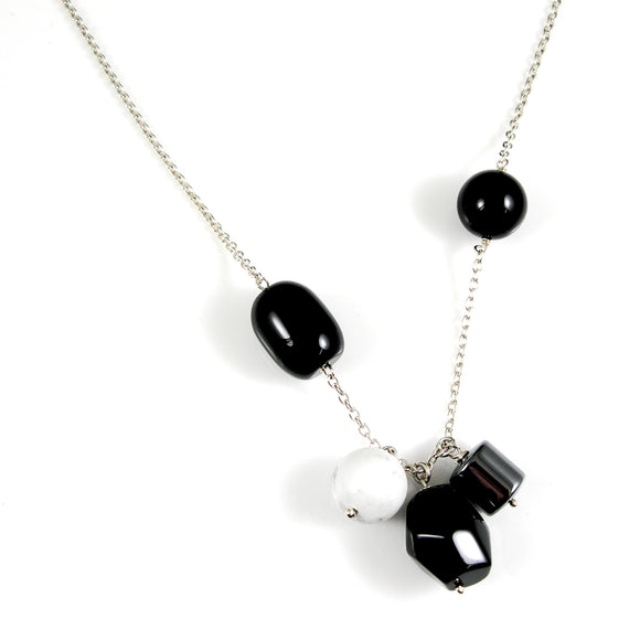 SALE - Onyx necklace - karen-morrison-jewellery