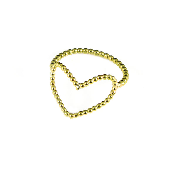 Gold FIlled Heart Ring - karen-morrison-jewellery