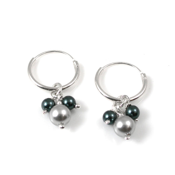 Swarovski Pearl Earrings - karen-morrison-jewellery