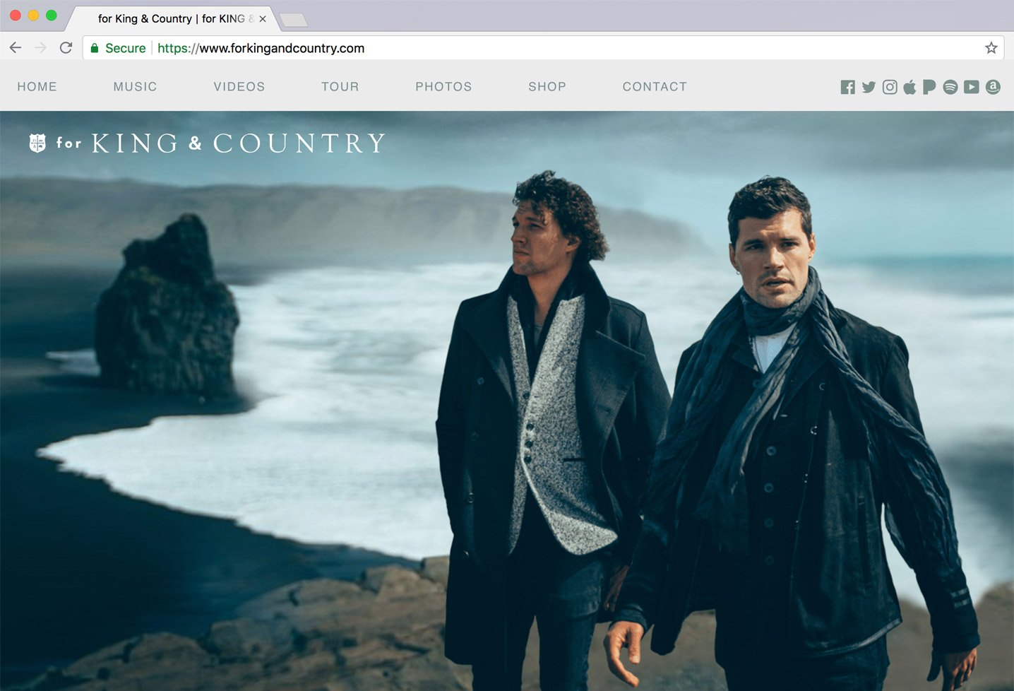 for KING & COUNTRY (2018)
