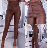 LEATHER TROUSERS - Regina Store By Centparadise