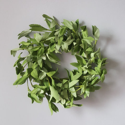 Herb Sage Mini Wreath
