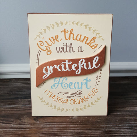 Thanksgiving Box Signs