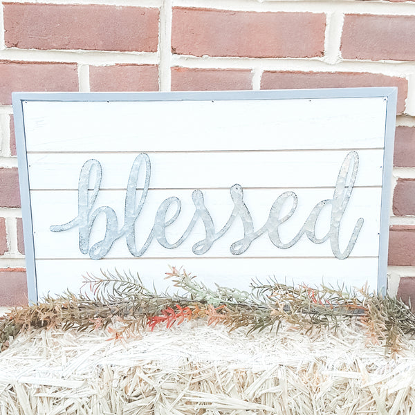 """Blessed"" Sign"