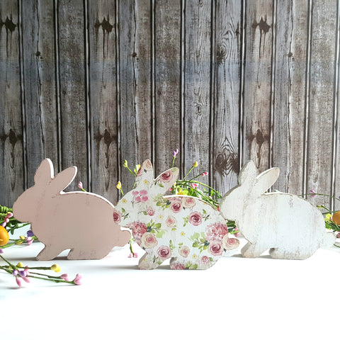 Chunky Spring Bunnies set of 3